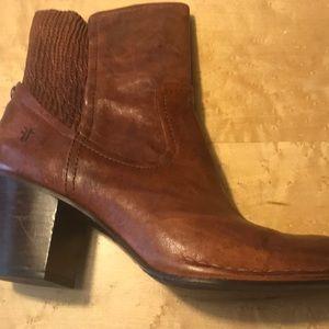 Frye mid length boot